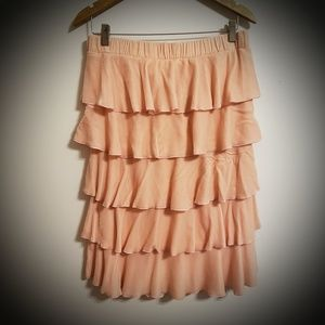 Juicy Couture Velvet Pink Strapless Dress..M..$220